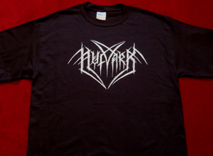 shirt silver on black